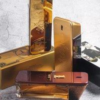 дезодорант оптовых-Бренд мужской Кельн 1 миллион мужской парфюмерии 100 мл, 3 варианта парфюмерии Высококачественный Spary Парфюм Антиперспирант Дезодорант