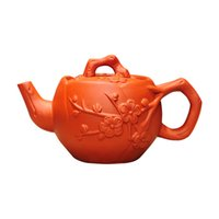 Wholesale purple sand teapot for sale - Group buy purple sand teapot purely manual teapot brewing household brewing teapot purple clay tea set ml large capacity kung fu tea pot