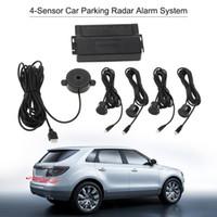 Wholesale dvr alarm for sale - Group buy Car Parking Sensor Auto Parking Assist Car dvr Radar Reverse Backup with Sensors Alarm System