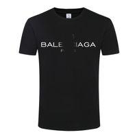 Wholesale Bàlènciàgà New Trav T shirt Men Women Best Quality t shirts Top Tee Bàlènciàgà