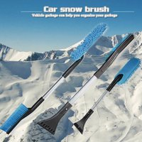 Wholesale best tools for cars resale online - 1 Set Car Snow Shovel Multifunctional Windshield Window Scraper Cleaning Tool for Winter Vehicle F Best