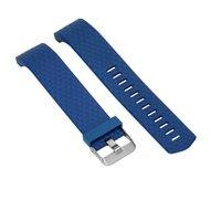 correa de silicona material al por mayor-Correa de reloj de material de silicona para reloj de pulsera.