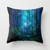 modèles de cas achat en gros de-Pillow Case Fog Forest Pattern Polyester Sofa Decorative Misty Cushion Cover for Home Decor 45x45cm Peach Velvet Pillow 14styles RRA2909