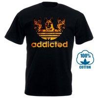 lustige hundet-shirts großhandel-Lustiges Schäferhund-Hundet-shirt für Männer plus Größen-Baumwollt-shirt 4Xl 5Xl 6Xl Camiseta