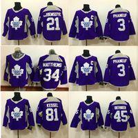 Wholesale ice train resale online - Toronto Maple Leafs Purple training Jersey Mitchell Marner Matthew Tavares Kessel Phaneuf Lupul hockey jerseys