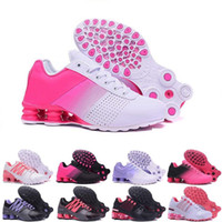 ingrosso negozi di scarpe online basket-scarpe shox economici consegnare NZ R4 809 donne scarpe da corsa marca sneakers da basket sport da jogging formatori migliore vendita sconto negozio online