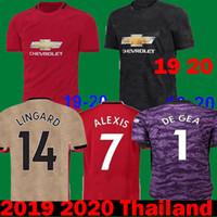 8714fe187c4 2020 LUKAKU RASHFORD man POGBA United Soccer Jerseys 18 19 20 Camiseta  manchester LINGARD utd ALEXIS MARTIAL maillots 2019 Football shirt