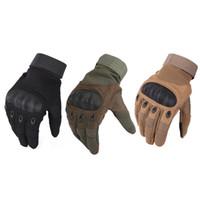motokros yarış eldivenleri toptan satış-1 Çift Motosiklet Eldiven Nefes Unisex Tam Parmak Eldiven Moda Açık Yarış Spor Eldiven Motocross Koruyucu Eldiven