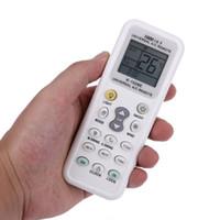 pantalla lcd de control remoto al por mayor-1028E Aire acondicionado Aire acondicionado Control remoto universal Pantalla LCD Bajo consumo de energía Aire acondicionado Control remoto inalámbrico c0104