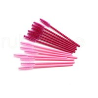 Wholesale make wands for sale - Group buy Disposable Eyelash Brush Lip Brush Lash Extension Mascara Applicator Eyelash Brushes Mascara Wands Cosmetics Make Up Tool set RRA1794