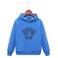 Wholesale product organic resale online - kids brand hoodies Children s Clothes New Product Children Whole Cotton Asymmetric Spring And Autumn Thin Money Smiling Face Sweater