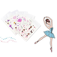Wholesale Temporary Tattoo Sticker For Body Art Little Girl Cartoon Water Transfer Flash Tattoo Fake Tatoo For Kids Child Tattoos