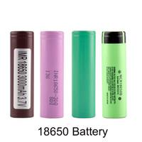 wiederaufladbare lithium-batterie elektronische zigarette großhandel-HG2 30Q NCR18650B 3,7 V 3000 mah 18650 Lithium Wiederaufladbare 18650 Batterie Für Vape E-Zigarette Vaporizer Elektronische Zigarette batterie
