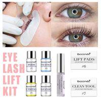 Wholesale eyelashes lifting resale online - Professional Eyelash Lift Kit Eye Lashes Perming Kit Perm with Rods Glue Salon Home Use Lash Lifting Tools