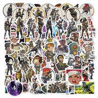 Wholesale games stickers resale online - Super Hero Game Stickers for Toy Luggage Moto Car Suitcase Laptop Skateboard Graffiti PVC Waterproof Cartoon Stickers