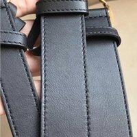 g ceinture blanche achat en gros de-2019 H L G M boucle blanche luxe métal designer boucle nouvelle ceinture noire en cuir ceinture de ceinture noire