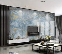 Wholesale living room decorative wallpaper for sale - Group buy Wallpaper Nordic Italy HD Marble Pattern Decorative Interior Wall Beautiful High Grade Waterproof d Wallpaper