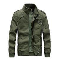 homens korean jaquetas longas venda por atacado-Coreano Slim Fit Lazer Jaqueta Homens Curto Bombardeiro de Manga Longa Com Zíper Primavera Homens Jaqueta Moda Jaqueta Masculino Outwear 50JK1