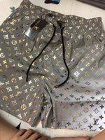 calças de tabuleiro surfando venda por atacado-19ss designers ds2 carta impressão Board Shorts Mens boardshort verão praia surf calções calças de alta qualidade homens Swim Shorts