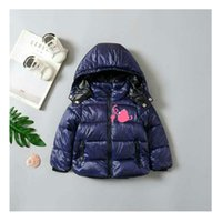 Toddler Baby Girls Boys Fleece Jacket Coat Kids Plaid Warm Winter Hooded Outerwear 12-36 Months
