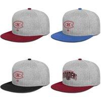 chapéus camo vermelho venda por atacado-Montreal Canadiens homens de hóquei no gelo vermelho Boné de rocha lavado Camo Bucket Hat Airy Mesh Hats For Men Women Black Summer Travel isherman hat RED