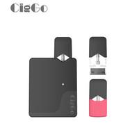Wholesale liquid vape pen battery for sale - Group buy 100 Authentic CigGo J Box Kit mAh Battery Vape Mod For Oil E liquid Pods Fit J Pen Bauway M