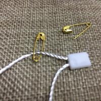 fixadores de grampos metálicos venda por atacado-Pinos de segurança Requintado Pequenas Roupas de Metal Aparar Ferramenta de Fixação Achados Metálicos Clipe Botões Ferramenta de Fixação Acessórios