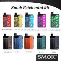Wholesale green pod resale online - 100 Original Smok Fetch Mini Pod Kit W Built in mAh Battery With with ml Refillable Pod Cartridge
