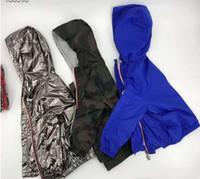 kız giysileri satılık toptan satış-Sıcak satış yeni ilkbahar ve sonbahar Moda Marka M Ceket çocuk Güneş Koruma Giyim Tasarımcısı Çocuk Giyim Erkek Kız Hoodies ceketler