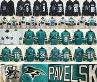 Wholesale evander kane jersey resale online - San Jose Sharks Hockey Joe Pavelski Evander Kane Joe Thornton Logan Couture Brent Burns Erik Karlsson Jerseys