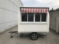 Wholesale food trailer for sale - Group buy Food Truck Food Trailer x200x230cm White
