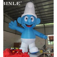 Wholesale advertising inflatables for sale for sale - Group buy 5mH popular outdoor advertising inflatable cartoon characters inflatable girl figures for sale