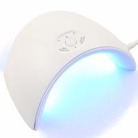 ingrosso unghie dei regali-36W UV LED Lampada per asciugare il chiodo Cavo USB portatile per il primo regalo Uso domestico 12 Leds Gel Nail Polish Dryer Mini USB Lamp