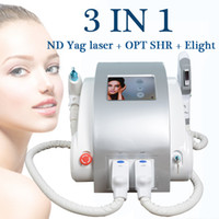 Wholesale portable laser hair removal machines for sale - Group buy ND Yag laser machine elight ipl hair machine portable beauty equipment Pigment Laser Treatment CE approved