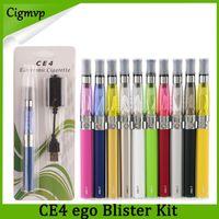 ingrosso kit elettronici per sigarette elettroniche-Ego kit starter kit CE4 atomizzatore sigaretta elettronica e kit cig 650mah 900mah 1100mah batteria EGO-T blister Clearomizer VS Vision Spinner 3