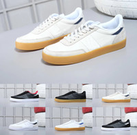 Wholesale canvas leather skate shoes for sale - Group buy 2020 Originals fashion luxury Men running shoes Authentic Killshot leather Mens casual skateboarding Low skate sport sneakers Us7