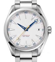 ingrosso orologio aqua terra-Luxury Mens 2813 uomini movimento meccanico orologio in acciaio inossidabile automatico movimento orologio Terra Terra 150m MastSelf-vento orologi da polso btime