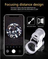 iphone telefon mal mal großhandel-Mini 66 mal handy mikroskop objektiv für iphone andriod handy externe linse multi-beschichtetes optisches glas telefon objektiv