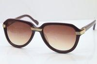 weihnachtsbrille sonnenbrille großhandel-Freies Verschiffen HEIßER ursprünglicher Frauen-Sonnenbrillen-Import 1991 Plank-Gläser hotsell Designer-Sonnenbrille-Rahmen-Weihnachtsaktivitäten Sonnenbrille