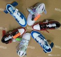 rote pulver großhandel-Hohe Qualität 1 NRG Hohe Weiße Basketball-Schuhe Pulver Blau 10X Chicago Bred 1s Männer Trainer Schuhe von Schwarz Rot Sneaker US5.5-13
