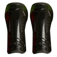 ingrosso guardia shin nero-Nero Resistente Novità 1 paio di protezioni Protezioni parastinchi per calcio