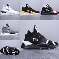 zapato y3 hombres al por mayor-Nueva moda de lujo diseñador Y-3 Kaiwa Chunky hombre zapatillas de deporte Y3 botas deportivas caminar transpirable multicolor zapatillas de deporte para correr