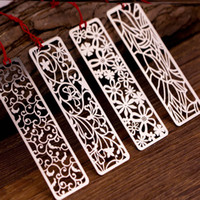 1PC Cute Vintage Bookmarks Creative Hollow Metal Book Marks For Kids Girls Gift Office School Supplies Novelty Stationery