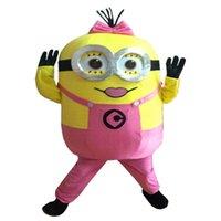 trajes de personagens de mascote venda por atacado-Chegam novas Traje Da Mascote Adult Character Costume girls Mascot Frete Grátis