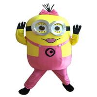ingrosso cinese vestito di natale-La mascotte delle ragazze del costume del carattere del nuovo arriva Mascot Costume della mascotte delle ragazze libera il trasporto