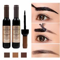Wholesale gel cosmetics for sale - Group buy 1 Eyebrow Gel Peel Off Eye Brow Enhancers Tattoo Shadow Eyebrow Gel Cosmetics Makeup For Women Makeup colors RRA1507
