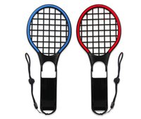 Wholesale DOBE Switch Colourful Tennis Racket for N Switch Joy Con Controllers Grips for Somatosensory Games Aces Pack Motion Sensors