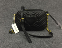 Wholesale chain handbags resale online - 2019 Newest style Most popular handbags women bags designer feminina small bag wallet CM
