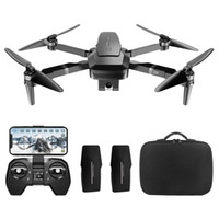 VISUO ZEN K1 4K UHD 5G WIFI FPV GPS Foldable RC Drone With Dual Camera Switchable 50X Zoom 30mins Flying Time - Three Batteries with Bag