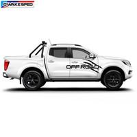 calcomanías de gráficos de cuerpo de camión al por mayor-OFF ROAD Graphics Vinyl Decal para Pickup Truck Racing Sport Styling Door Side Decor Sticker Auto Body Body Stickers